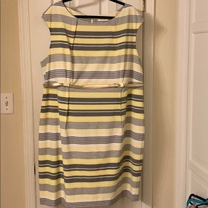 Calvin Klein 22W Dress NWOT Career Nice
